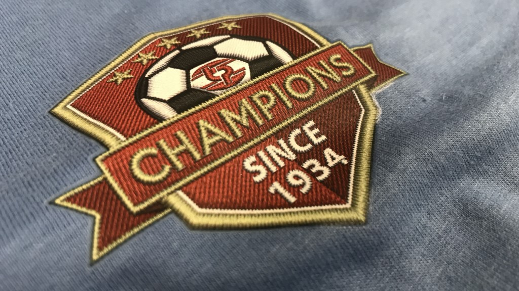FC Transfer Embroidery Effect